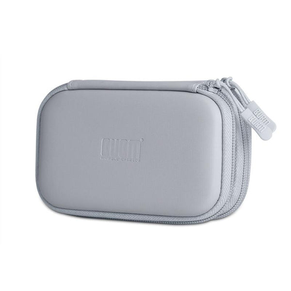 BUBM Double Layers Portable Anti-shock Earphone Accessory Storage Bag U Flash Disk Collection Box