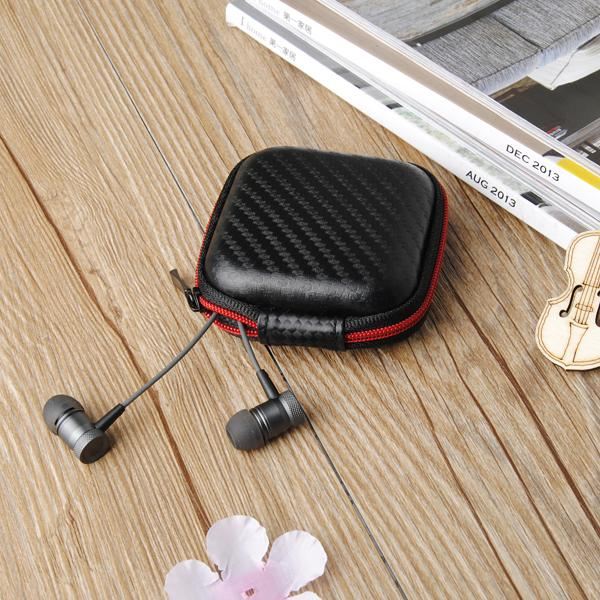 KZ Portable Storage Square Bag Box Cover For Earphone Cable Charger