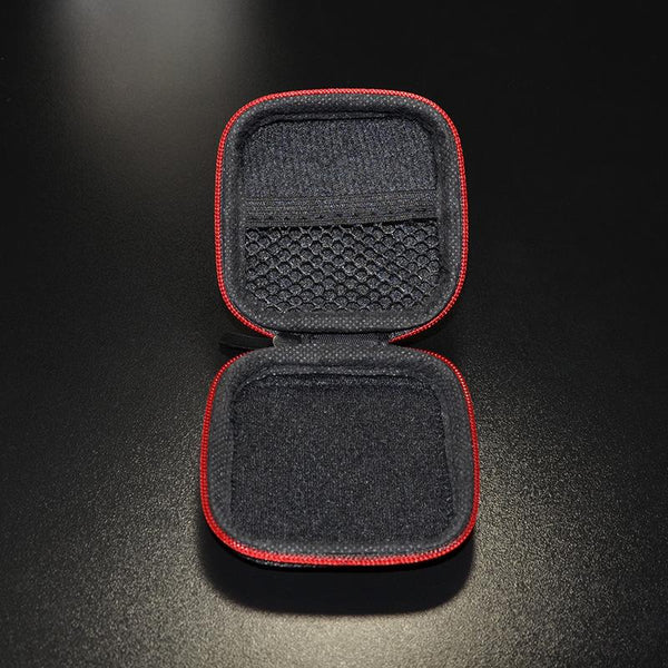 KZ Mini Retro Earphone Cable Housing Storage Bag Box For Headphone