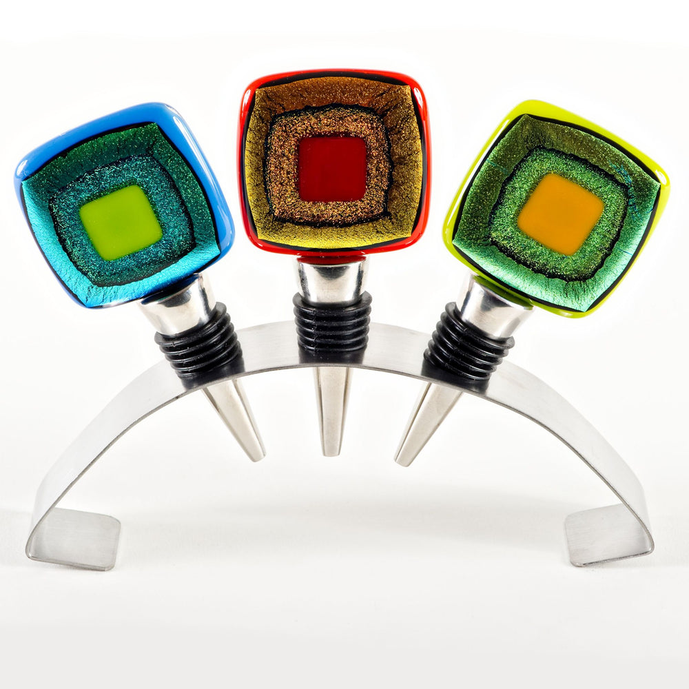Set of Three Cosmo-Style Winestoppers