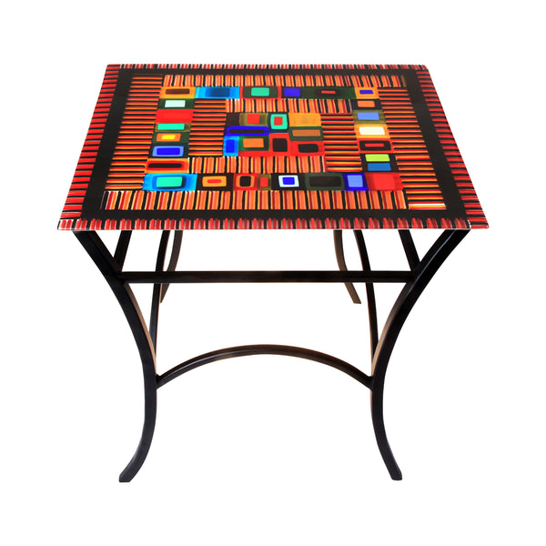 Table Carnival Side Red