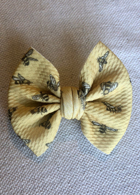 "Bees - 3"" Small Bow"