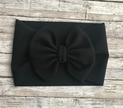 Black - Head Wrap