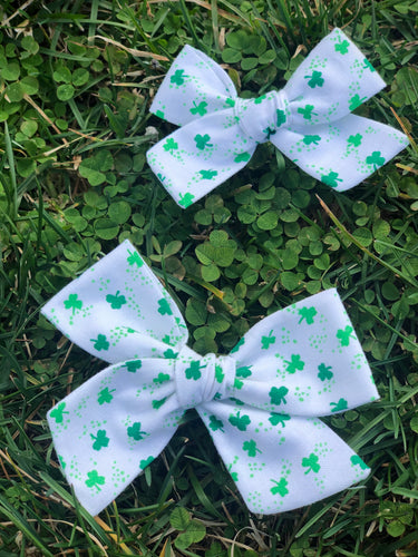 Clover - Fabric Hand Tied Bow