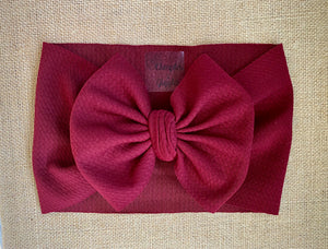 Burgundy - Head Wrap