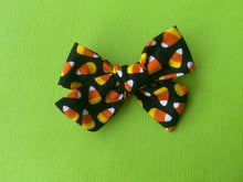 Load image into Gallery viewer, Candy Corn - Fabric Hand Tied Bow