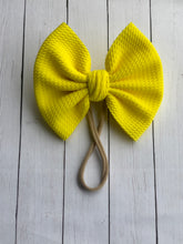 Load image into Gallery viewer, Sunshine Yellow Big Bow