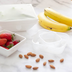 Stretchable Reusable Silicone Food Covers for Bowls
