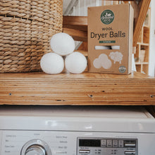 Wool Dryer Balls 6 Pack with Storage Pouch