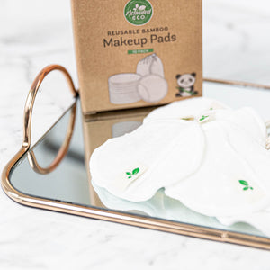 Reusable Bamboo Makeup Removal Pads 10 Pack
