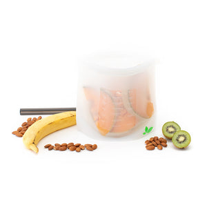 Silicone Food Storage Pouches - Set of Two