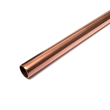 Stainless Steel Smoothie Straw Rose Gold