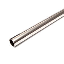 Stainless Steel Smoothie Straw Silver