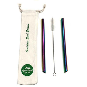 Stainless Steel Bubble Tea Straw Kit