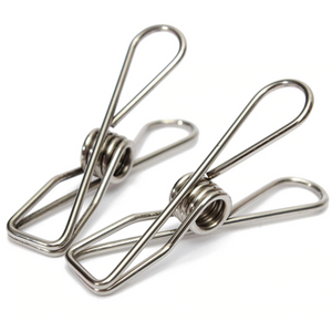 Stainless Steel Infinity Clothes Pegs