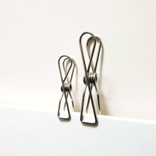 Twin Pack Infinity Clothes Pegs Silver