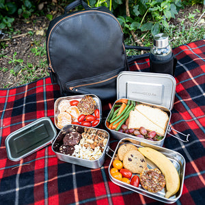 Stainless Steel Two Layer Lunchbox