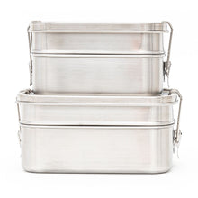 Stainless Steel Two Layer Lunch Box Comparison 1340ml & 1960ml