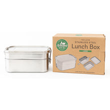 Stainless Steel Two Layer Lunch Box 1340ml