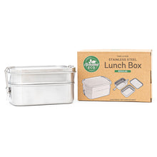 Stainless Steel Two Layer Lunch Box 1960ml