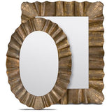Antiqued Gold Lara Mirror