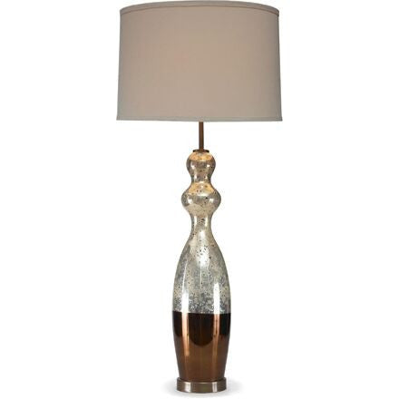 Appley Table lamp - Amber/Variegated Gold