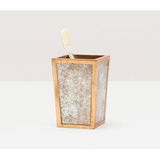 Atwater brush holder in antique gold