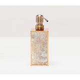 Atwater soap pump in antique gold