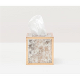 Atwater tissue box in antique gold
