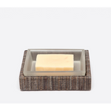 Bali soap dish in brown