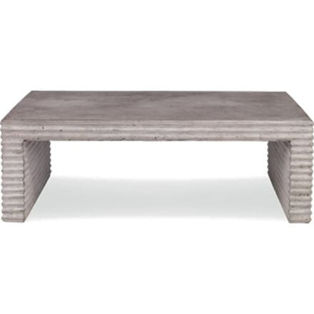Belmont Outdoor Coffee Table - Slate Concrete