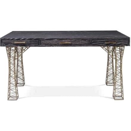 Belvedere Desk - Black Limed Ash