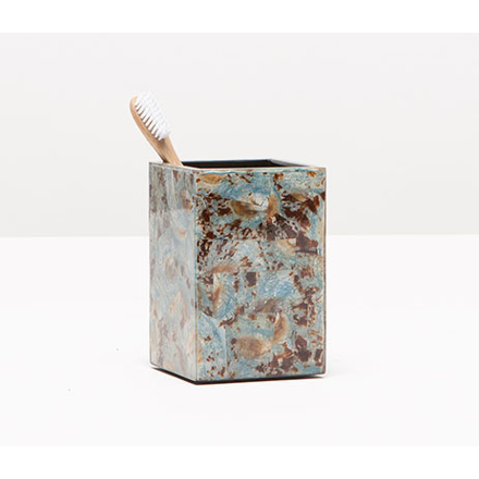 Blue Limpet Shell Sitges Brush Holder.