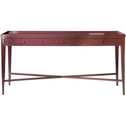 Console with Three Drawers (other finishes available)
