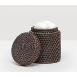 Coffee Rattan canister