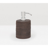 Coffee Rattan soap pump
