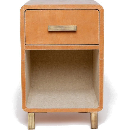 Dante Single Nightstand (other finishes available)
