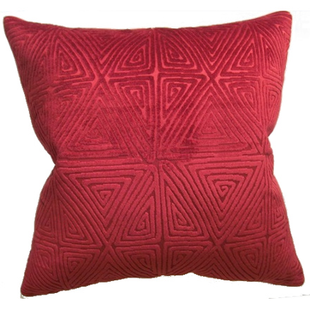 Diamond Maze Pillow (other colors available)