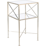 Henri Two Tier Square Side Table