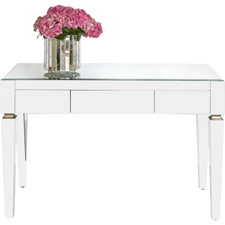 Jacklyn Glass Desk (other finishes available)