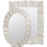 Antiqued Silver Lara Mirror