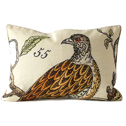 Left Facing Bird of Prey Pillow