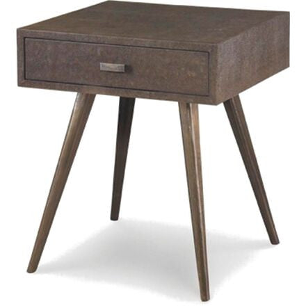 Lorenzo Side Table - Espresso A mid-century inspired one drawer side table/nightstand.