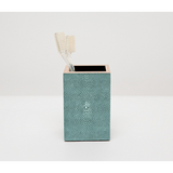 Turquoise Manchester Brush Holder Bath Accessory