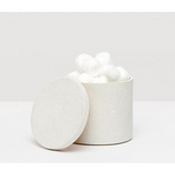 Snow Manchester Faux Shagreen Canister.