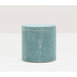 Turquoise Manchester Canister Bath Accessory