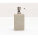 Ivory Manchester Faux Shagreen Soap Pump.