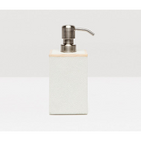 Snow Manchester Faux Shagreen Soap Pump.