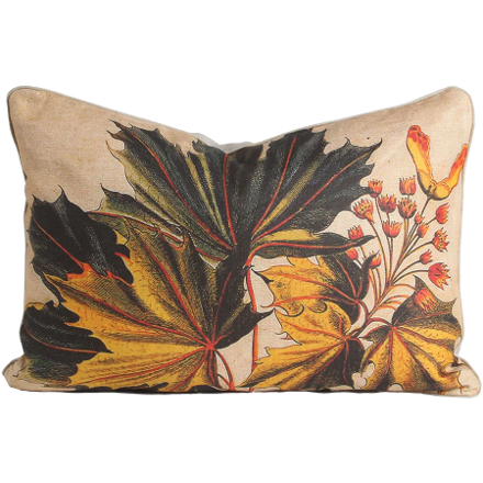 Maple Leaves Pillow