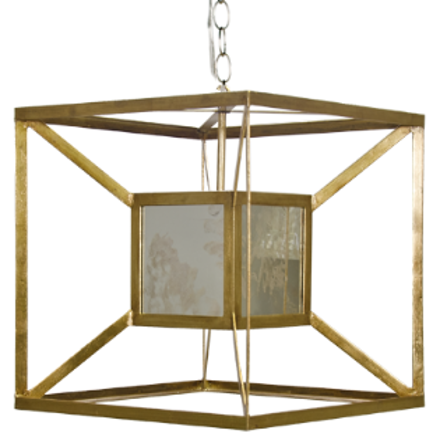 Maxwell Antique Mirror Pendant (other finishes available)